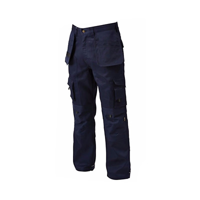 Apache W42 L31 Cargo Work Wear Cordura Trousers Kneepad Holster Pockets Navy