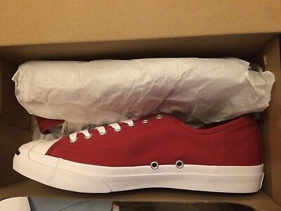 069f502881b1 Converse Jack Purcell JP JACK OX Low Top Sneaker TERRA RED 157784C Size 10