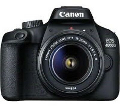 CANON EOS 4000D DSLR KIT  Camera with EF-S 15-88 mm + CANON BAG + 16 GB SD CARD