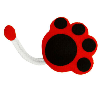 Non-woven Fabric Felt Applique Cat Paw Key Holder Case Kits for Felt Crafts