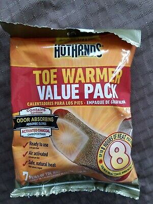 New Hot Hands Toe Warmers 7 Pair