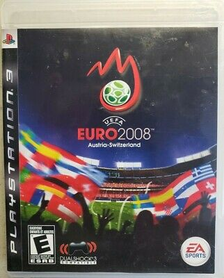 UEFA Euro 2008 Sony PlayStation 3 PS3 TESTED Game Case Manual FREE FAST SHIPPING
