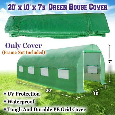 Strong Camel Replacement Cover for 20'X10'X7' Green House Walk In Outdoor...