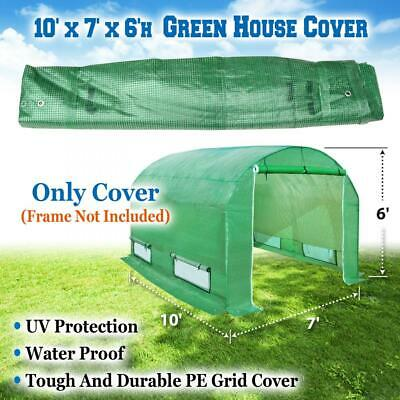 Sunrise 10'X7'X6' Large Walk In Outdoor Plant Gardening Greenhouse Cover...