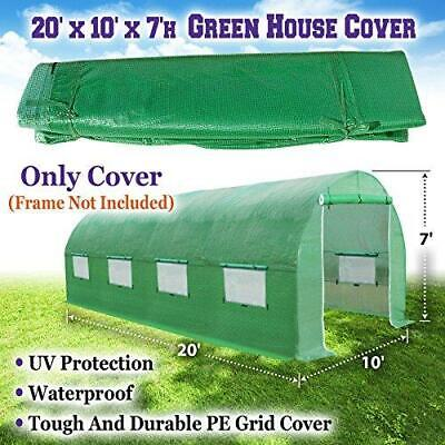 Sunrise 20'X10'X7' Large Walk In Outdoor Plant Gardening Greenhouse Cover...