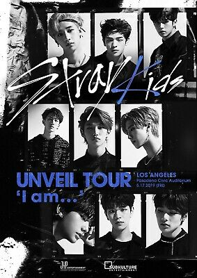 2  * STRAY KIDS * Tickets Pasadena Civic Los Angeles