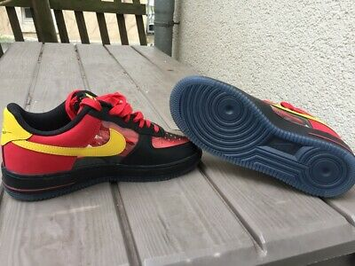 huge selection of 37f7e c1f99 NIKE AIR FORCE 1 Low Kyrie Irving Schuhe Sneaker rot schwarz gelb Gr. 41  NEU -  29.76   PicClick