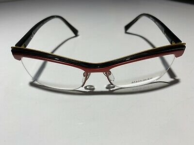 f35a0f36416c NEW AUTHENTIC ALAIN MIKLI eyeglasses A03047 4111 54-16 145 hand made ...