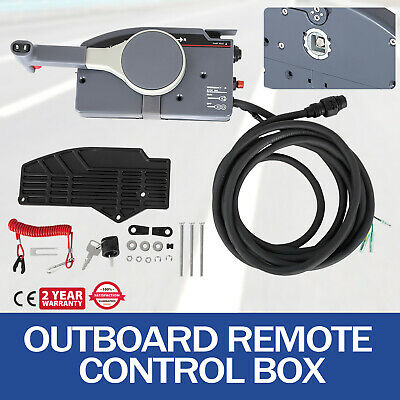 Boat Outboard Engine Remote Control Box for Yamaha 703-48205-16 Side Mounted UK