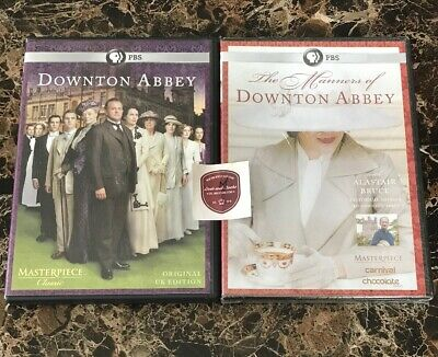 Masterpiece: The Manners of Downton Abbey/ Complete Season 1, 4 Disc [2 DVD Lot]