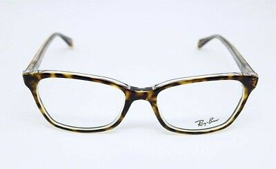 42f11cca08 Ray-Ban RB5362 5082 Tortoise Crystal Eyeglasses Frames NEW with Case 52-17-