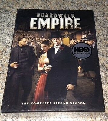 Boardwalk Empire Season 2 (DVD 2012 5-Disc Set WS) Brand New and Factory Sealed