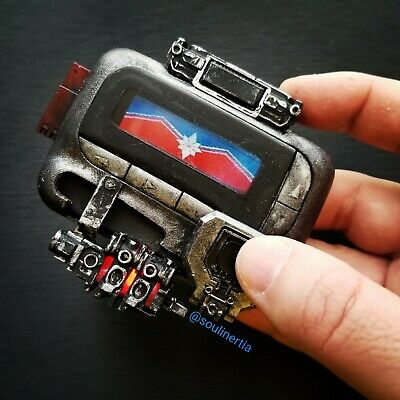 Captain Marvel/Nick Fury pager! Real Motorola beeper mod interactive touchscreen