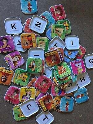 Woolworths Disney Words Tiles - CHOOSE FROM MANY - FREE POSTAGE!! $2.24