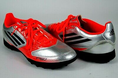 the best attitude 59d81 4afb1 Adidas F50 TRX TF Mens Turf Soccer Shoes G61507 Size 8-12 Silver