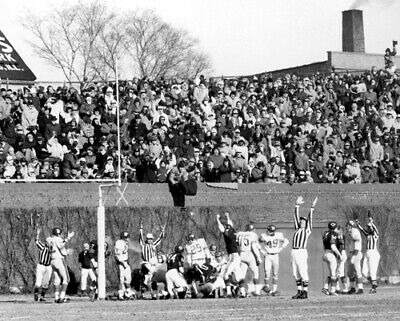 1963 Championship Game Chicago Bears vs New York Giants at Wrigley Field Photo 2