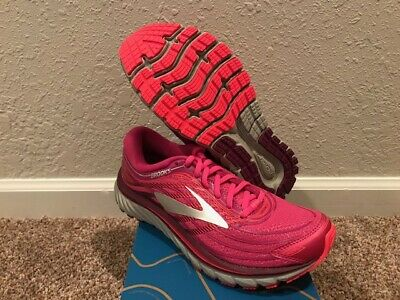 b86b94ad8310d Women s Brooks Glycerin 15 Running Shoes Size 7.5 New In Box  Pink Purple Silver
