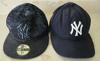 NEW ERA 59 50 NY Yankees World Series Fitted Baseball Cap 7 1 8 1 4 ... 399bfa8e6a6