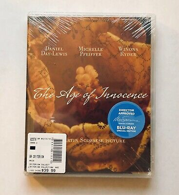 THE AGE OF INNOCENCE Criterion Collection BLU-RAY New + Sealed Martin Scorsese