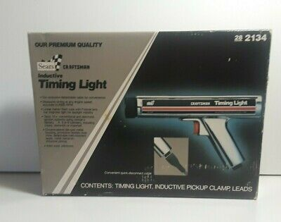 Vintage Sears Craftsman Inductive Timing Light # 2134 Made in USA New other read