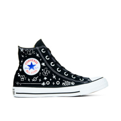 59ed5e1bbe69 BT21 x Converse Collarboration Chuck Taylor All Star High Black (Limited)