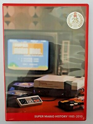 Super Mario History 1985-2010 - Complete With Manual Free Postage