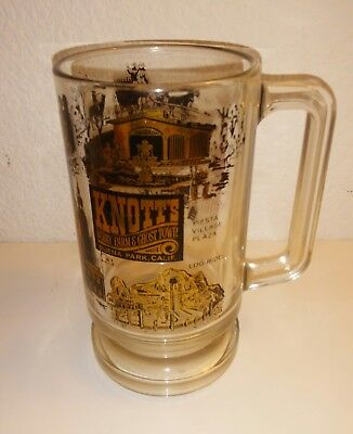1960's Vintage KNOTTS BERRY FARM AND GHOST TOWN TALL SOUVENIR MUG THEME PARK