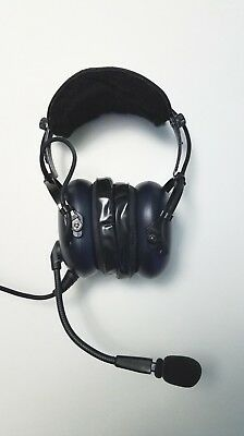 60ad5c55ab5 NIB PILOTUSA PA-1169T Aircraft Aviation Pilot Headset - $145.00 ...