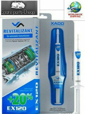 XADO EX120 Automatic Gearbox / CVT / Tiptronic Restorer Oil Additive Treatment