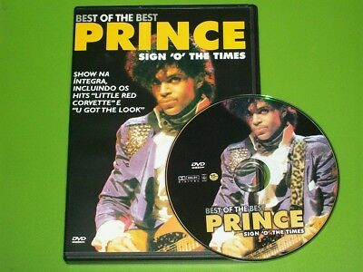"""PRINCE DVD LIVE """"SIGN O' THE TIMES"""" ROTTERDAM 1987 MOVIE / CONCERT 85 MIN, -WoW!"""
