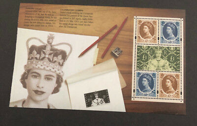 2003 GB DX31 PRESTIGE BOOKLET PANE PERFECT CORONATION SG 2378a with £1 SG 2380