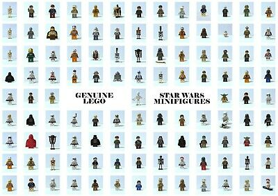 Genuine Lego Star Wars Minifigures Mini Figs Minifigs Droid Darth Maul Updated
