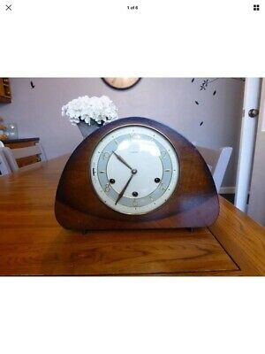 1950s Westminster 8 day chiming mantal clock