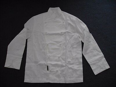 White Chef Jacket with Long Sleeves