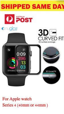 Geuine Nuglas 3D Curved Tempered Glass Screen Protector for Apple Watch 1 2 3 4