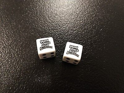 GRAND THEFT AUTO San Andreas Promo Dice GTA SA Rockstar
