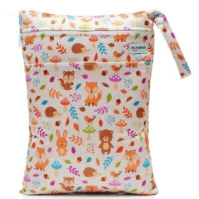 Bags Diaper Nappies Waterproof Swim Sport Travel New Wet Washable Reusable Cloth