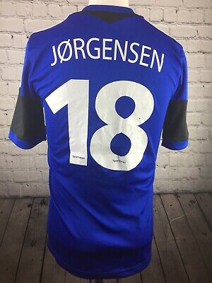 FC Copenhagen Football Shirt Adidas Away Kit 2013 Jorgensen 18. Size Small