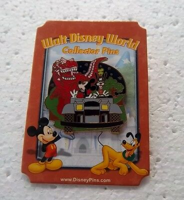 *~* Disney Wdw Attractions Dinosaur Attraction Mystery Pin New On Card *~*