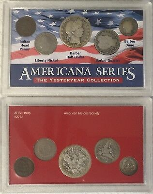 Americana Series Yesteryear Collection Silver Half Dollar, Quarter & Dime Coin S