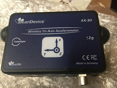 BeanDevice AX-3D-2G Wireless tri-axial accelerometer
