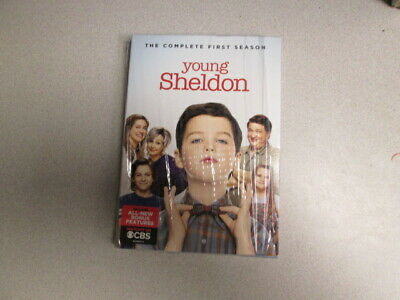 Young Sheldon: The Complete First Season (DVD, 2018, 2-Disc Set)