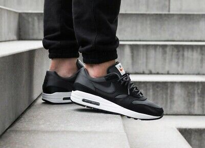 NIKE AIR MAX 1 Se ''Satin Upper'' Ao1021 001 BlackAnthracite Very Dark Grey