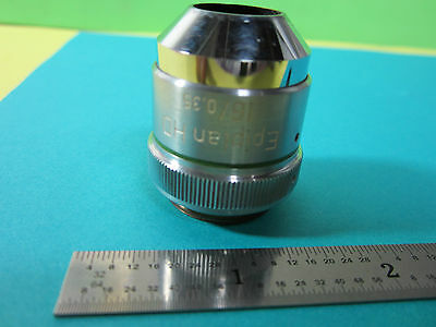 Microscope Objective Epiplan HD 16 X Zeiss Allemagne Optiques Bin #B3-20