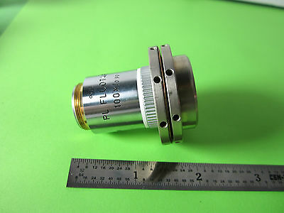 Microscope Objective Leitz Wetzlar Allemagne Fluotar 100x Infinity Optiques