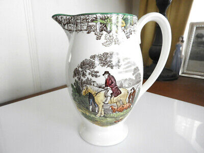 Vintage Spode BYRON Large Pitcher / Jug  Hard to Find - NICE!