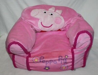 Peppa Pig Kids Bean Bag Chair Child Pink Sofa Small Girls Portable