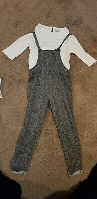 Girls  Outfit Grey With Silver Sparkle Fleck By I Love Girls Wear Age 8