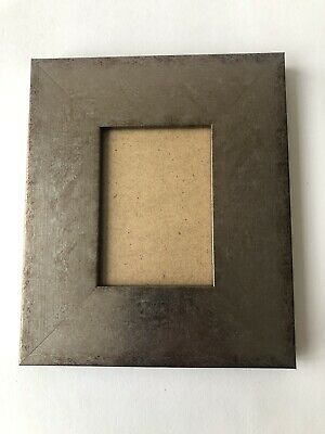 NEW Quality wooden ACEO Art/sports card 3.5 x 2.5 silver picture frame
