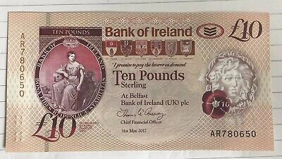 Bank of Ireland £10 polymer Banknote- Just Released- Uncirculated
